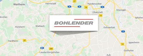 Anfahrt BOHLENDER