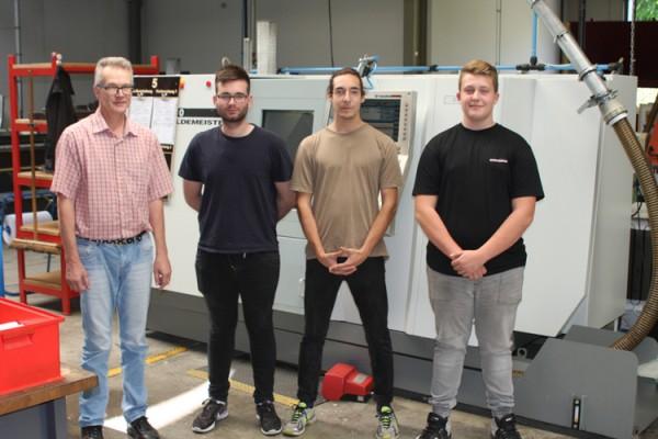 Drei neue Auszubildende starten ihre Karriere bei der BOHLENDER GmbH