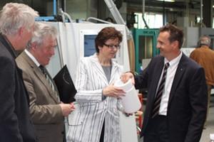 Europaabgeordnete informiert sich bei Bohlender