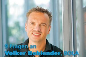 9 Fragen an Volker Bohlender