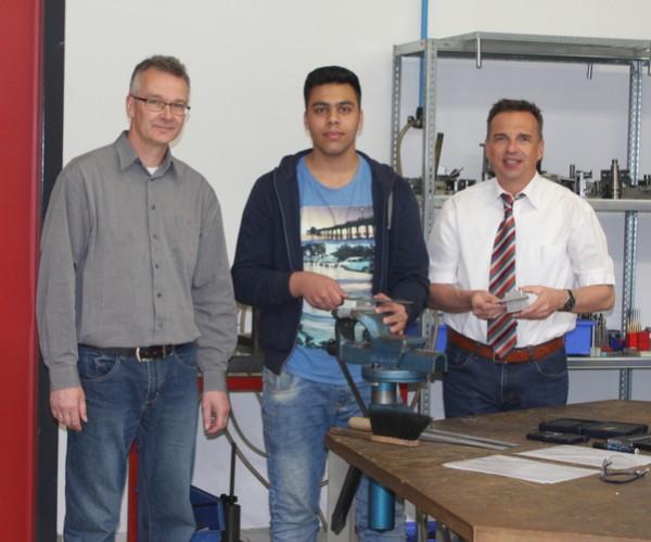 Syrischer Flüchtling absolvierte Schulpraktikum bei der BOHLENDER GmbH