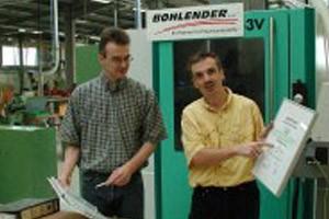 Zertifikat von der DEKRA in Stuttgart erneut bestätigt